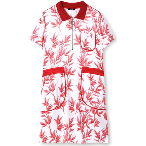 Textil Ženy Krátké šaty Liu Jo TA1116 T4822 Červené