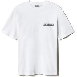 Textil Trička s krátkým rukávem Napapijri NP0A4F4R Bílý