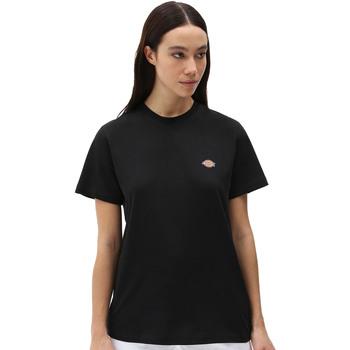 Textil Ženy Trička s krátkým rukávem Dickies DK0A4XDABLK1 Černá