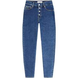 Textil Ženy Rifle boyfriend Calvin Klein Jeans J20J213329 Modrý