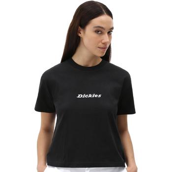 Textil Ženy Trička s krátkým rukávem Dickies DK0A4XBABLK1 Černá