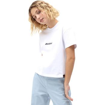 Textil Ženy Trička s krátkým rukávem Dickies DK0A4XBAWHX1 Bílý