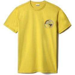 Textil Muži Trička s krátkým rukávem Napapijri NP0A4F6K Žlutá