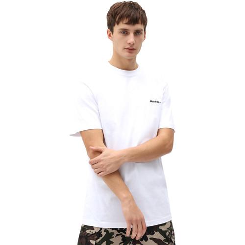 Textil Muži Trička s krátkým rukávem Dickies DK0A4X9OWHX1 Bílý