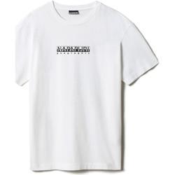 Textil Trička s krátkým rukávem Napapijri NP0A4FF5 Bílý
