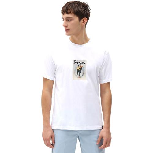 Textil Muži Trička s krátkým rukávem Dickies DK0A4X9IWHX1 Bílý