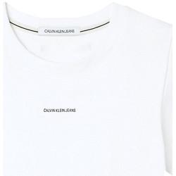 Textil Ženy Trička s krátkým rukávem Calvin Klein Jeans J20J215699 Bílý