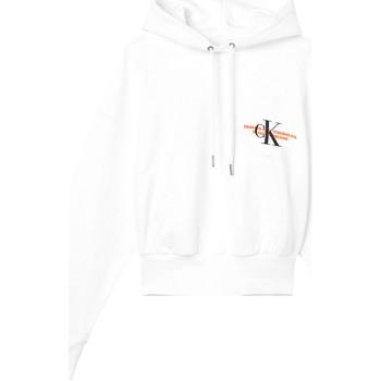 Textil Ženy Mikiny Calvin Klein Jeans J20J216351 Bílý