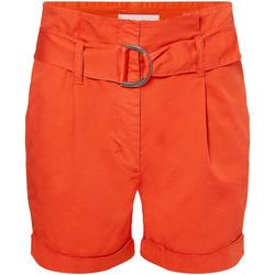 Textil Ženy Kraťasy / Bermudy Calvin Klein Jeans K20K202820 Oranžový