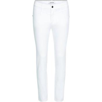 Textil Ženy Rifle slim Calvin Klein Jeans K20K202836 Bílý