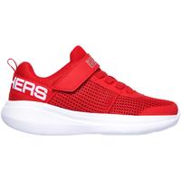 Boty Děti Nízké tenisky Skechers 97875L Červené
