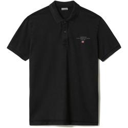 Textil Muži Polo s krátkými rukávy Napapijri NP0A4FA2 Černá