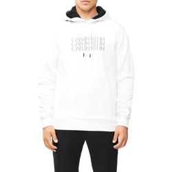 Textil Muži Mikiny Calvin Klein Jeans K10K107144 Bílý