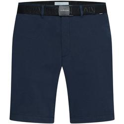 Textil Muži Kraťasy / Bermudy Calvin Klein Jeans K10K107164 Modrý