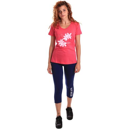 Textil Ženy Teplákové soupravy Key Up 5K79A 0001 Růžový