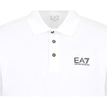 Textil Muži Polo s krátkými rukávy Ea7 Emporio Armani 8NPF04 PJM5Z Bílý