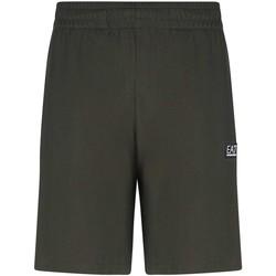 Textil Muži Kraťasy / Bermudy Ea7 Emporio Armani 3KPS53 PJ7BZ Zelený
