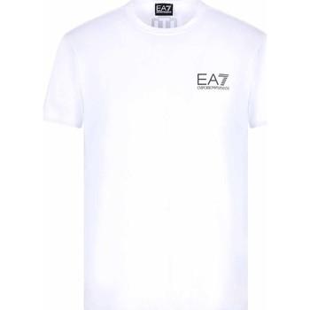 Textil Muži Trička s krátkým rukávem Ea7 Emporio Armani 3KPT06 PJ03Z Bílý