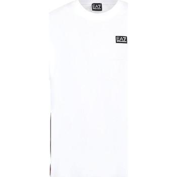 Textil Muži Trička s krátkým rukávem Ea7 Emporio Armani 3KPT13 PJ02Z Bílý