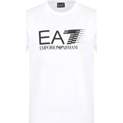 Textil Muži Trička s krátkým rukávem Ea7 Emporio Armani 3KPT39 PJ02Z Bílý