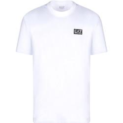 Textil Muži Trička s krátkým rukávem Ea7 Emporio Armani 3KPT63 PJ6EZ Bílý