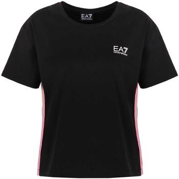 Textil Ženy Trička s krátkým rukávem Ea7 Emporio Armani 3KTT21 TJ29Z Černá