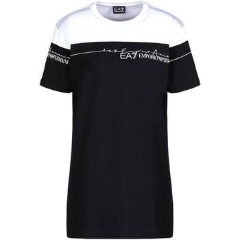 Textil Ženy Trička s krátkým rukávem Ea7 Emporio Armani 3KTT59 TJBEZ Černá