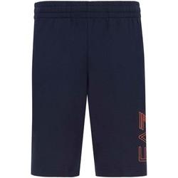 Textil Muži Kraťasy / Bermudy Ea7 Emporio Armani 3KPS57 PJ05Z Modrý
