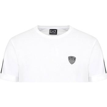 Textil Muži Trička s krátkým rukávem Ea7 Emporio Armani 3KPT56 PJ4MZ Bílý