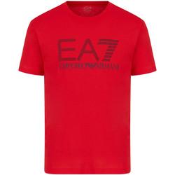 Textil Muži Trička s krátkým rukávem Ea7 Emporio Armani 3KPT81 PJM9Z Červené