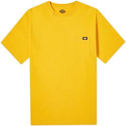 Textil Muži Trička s krátkým rukávem Dickies DK0A4TMOB591 Žlutá