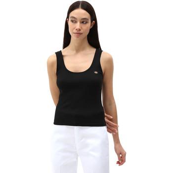 Textil Ženy Tílka / Trička bez rukávů  Dickies DK0A4XB9BLK1 Černá