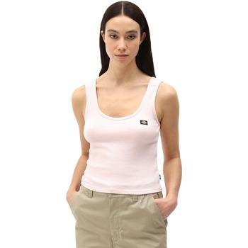 Textil Ženy Tílka / Trička bez rukávů  Dickies DK0A4XB9LPI1 Růžový