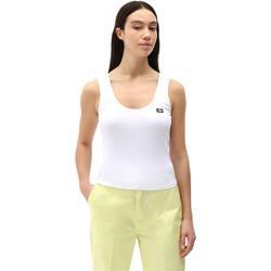 Textil Ženy Tílka / Trička bez rukávů  Dickies DK0A4XB9WHX1 Bílý