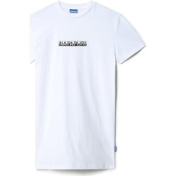 Textil Ženy Krátké šaty Napapijri NP0A4EYY Bílý