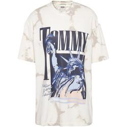 Textil Ženy Trička s krátkým rukávem Tommy Jeans DW0DW09811 Bílý
