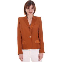 Textil Ženy Saka / Blejzry Cristinaeffe 0306 2545 Hnědý