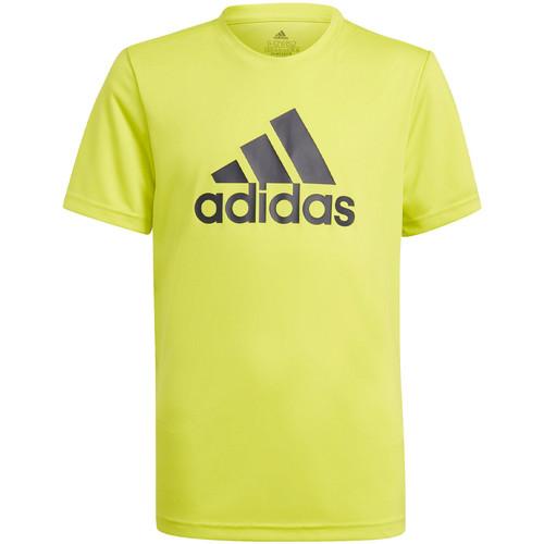 Textil Děti Trička s krátkým rukávem adidas Originals GN1476 Žlutá