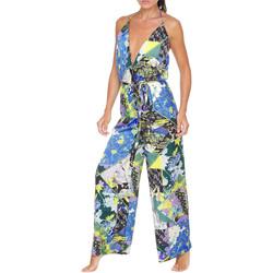 Textil Ženy Overaly / Kalhoty s laclem F * * K  Zelený