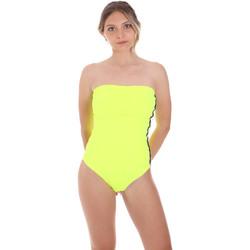 Textil Ženy jednodílné plavky F * * K  Žlutá