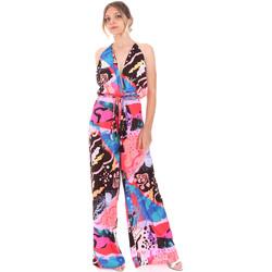 Textil Ženy Overaly / Kalhoty s laclem F * * K  Růžový