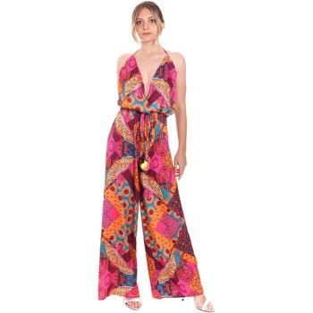Textil Ženy Overaly / Kalhoty s laclem F * * K  Červené