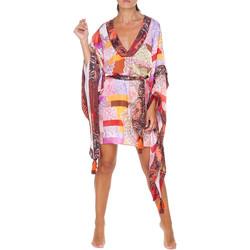 Textil Ženy Krátké šaty F * * K  Růžový