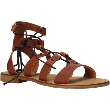 Boty Ženy Sandály Keys K-4880 Hnědý