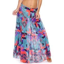 Textil Ženy Sukně F * * K  Modrý