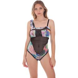 Textil Ženy jednodílné plavky F * * K  Černá