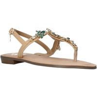 Boty Ženy Sandály Gold&gold A21 GL628 Béžový