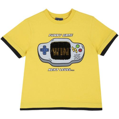 Textil Děti Trička s krátkým rukávem Chicco 09067292000000 Žlutá
