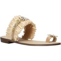 Boty Ženy Sandály Gold&gold A21 GL613 Béžový