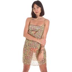 Textil Ženy Krátké šaty Me Fui M20-0456X2 Žlutá